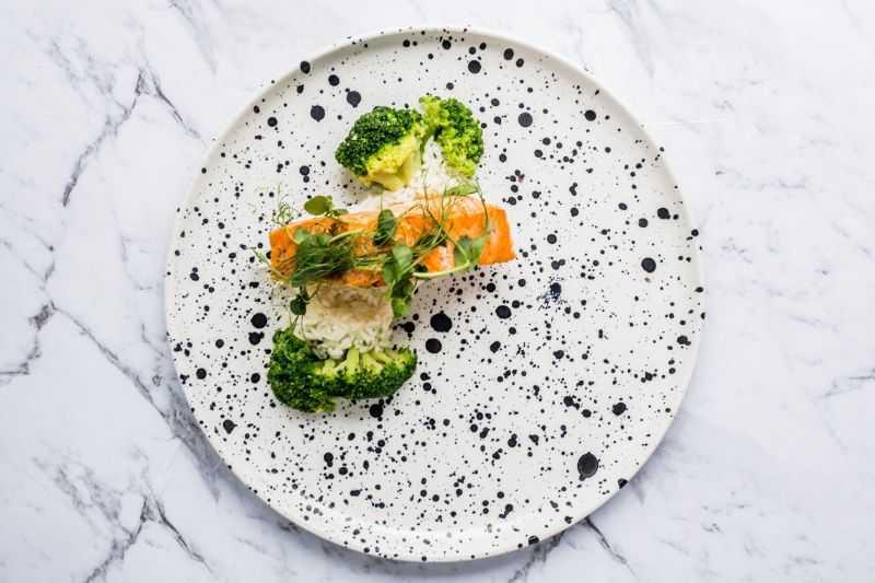 Przykładowe menu wege + fish