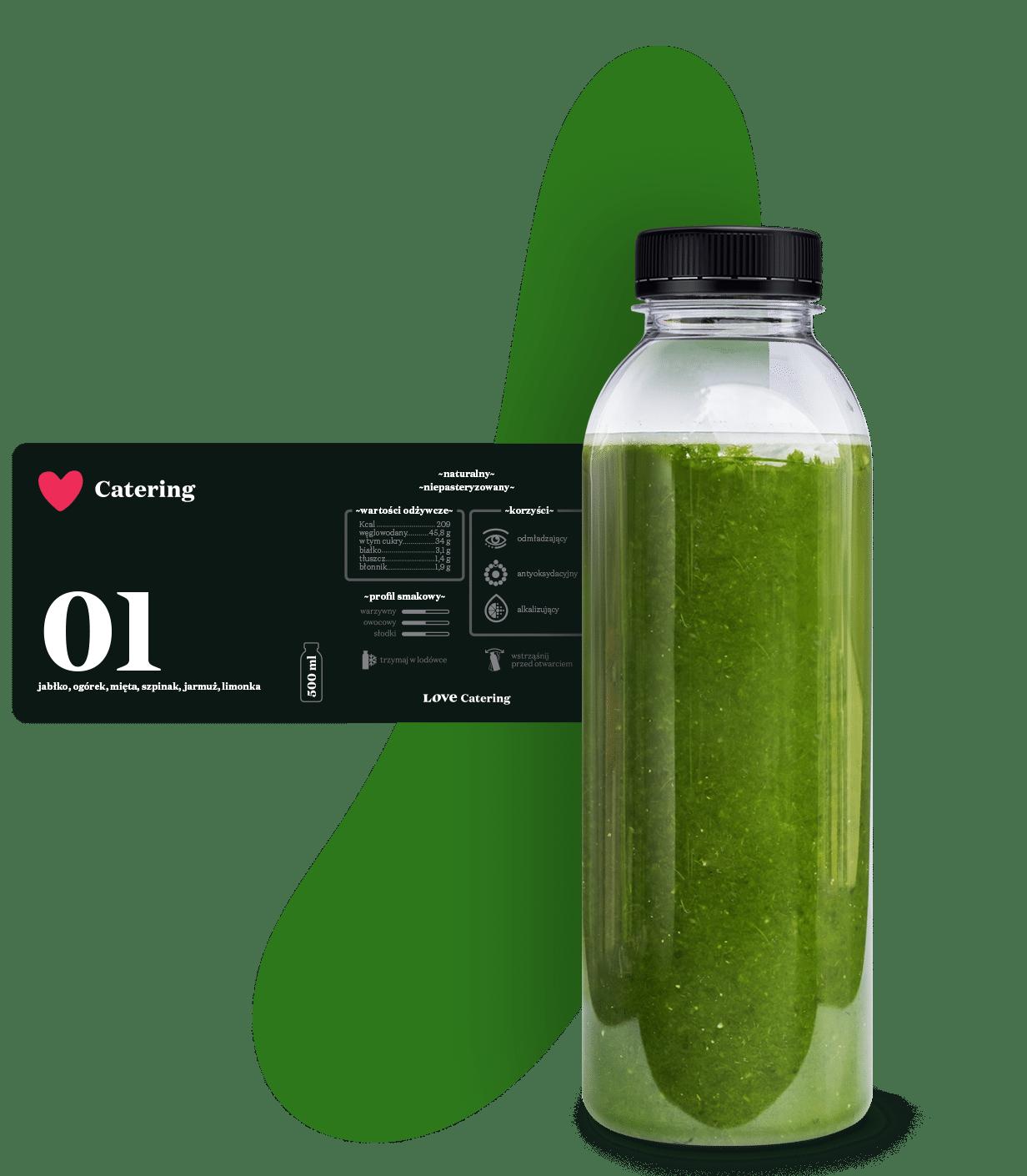 smoothie sour greens