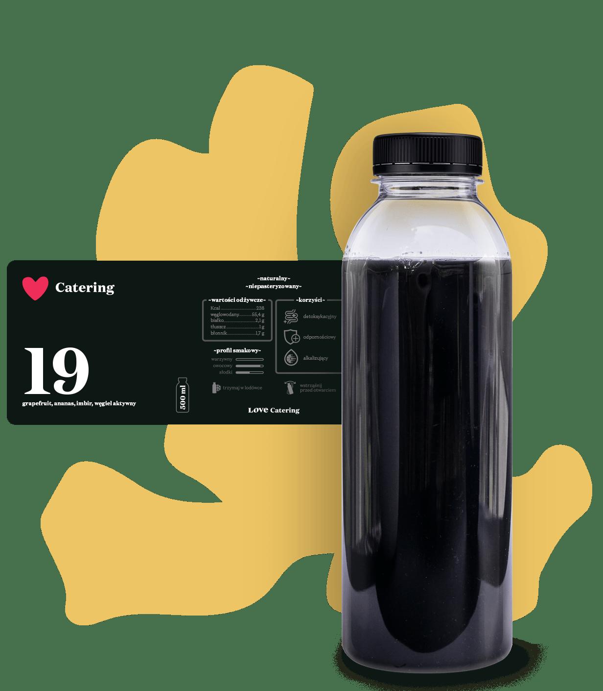 smoothie carbon detox